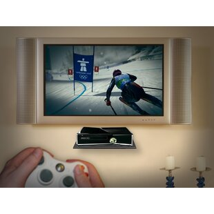 Glass Gaming Console Wall Shelf Master Mounts