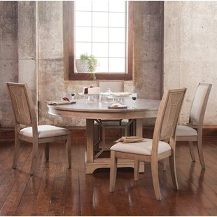 Ullrich 5 Piece Solid Wood Dining Set By Ophelia & Co.