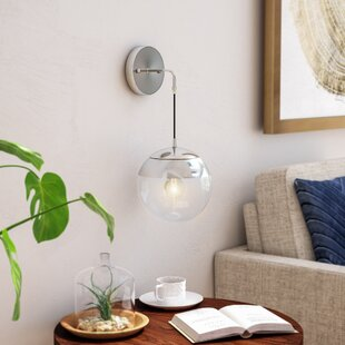 Simeone 1-Light Up & Downlight By Brayden Studio Wall Lights