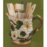 Abchomecollection Abc Home Collection 7 Piece Gardenia Assorted Kitchen Utensil Set Wayfair