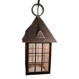 Find Flannigan 1-Light Outdoor Hanging Lantern By Charlton Home