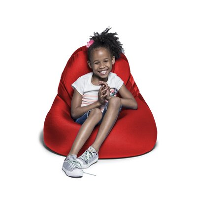 Nimbus Bean Bag Chair & Lounger Jaxx Upholstery Color: Red