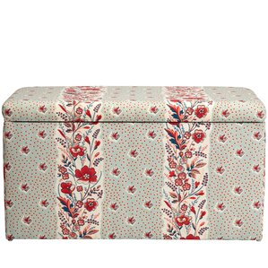 Nena Cotton Upholstered Storage Bench by August Grove