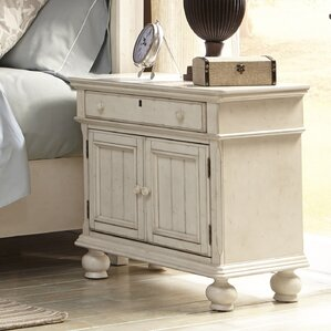 Newport 1 Drawer Nightstand by American Woodcrafters