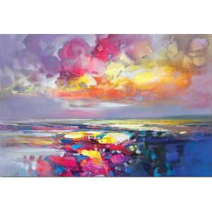 'Primary Shore' Print on Canvas by East Urban Home