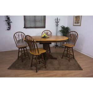 Copernicus 5 Piece Pub Table Set by Loon Peak