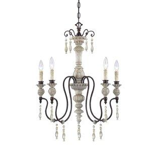 Inexpensive Grateron 5-Light Chandelier By Lark Manor