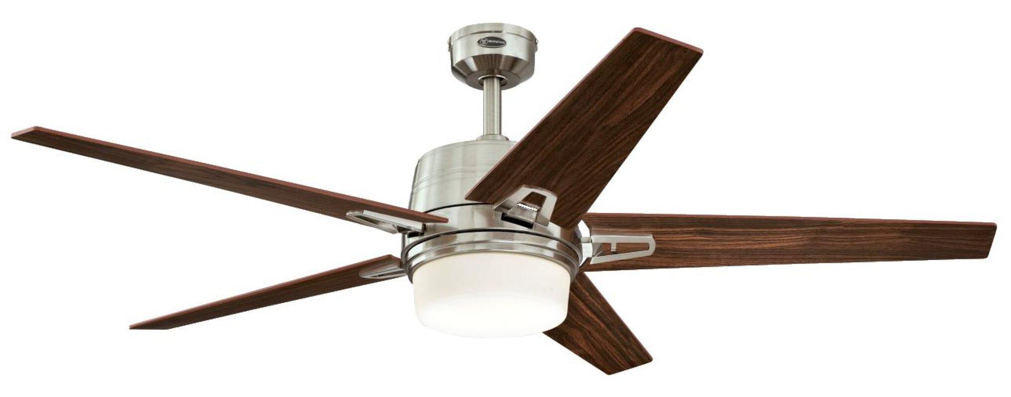 Westinghouse lighting 56 zephyr 5 blade ceiling fan with remote 56 zephyr 5 blade ceiling fan with remote mozeypictures Images
