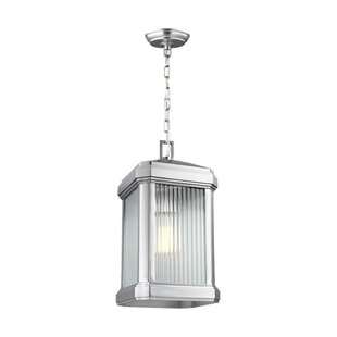 Coupon Meghan 1-Light Outdoor Hanging Lantern By Red Barrel Studio