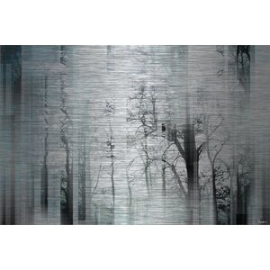 'Wild Trees' by Parvez Taj Painting Print on Brushed Aluminum by Parvez Taj
