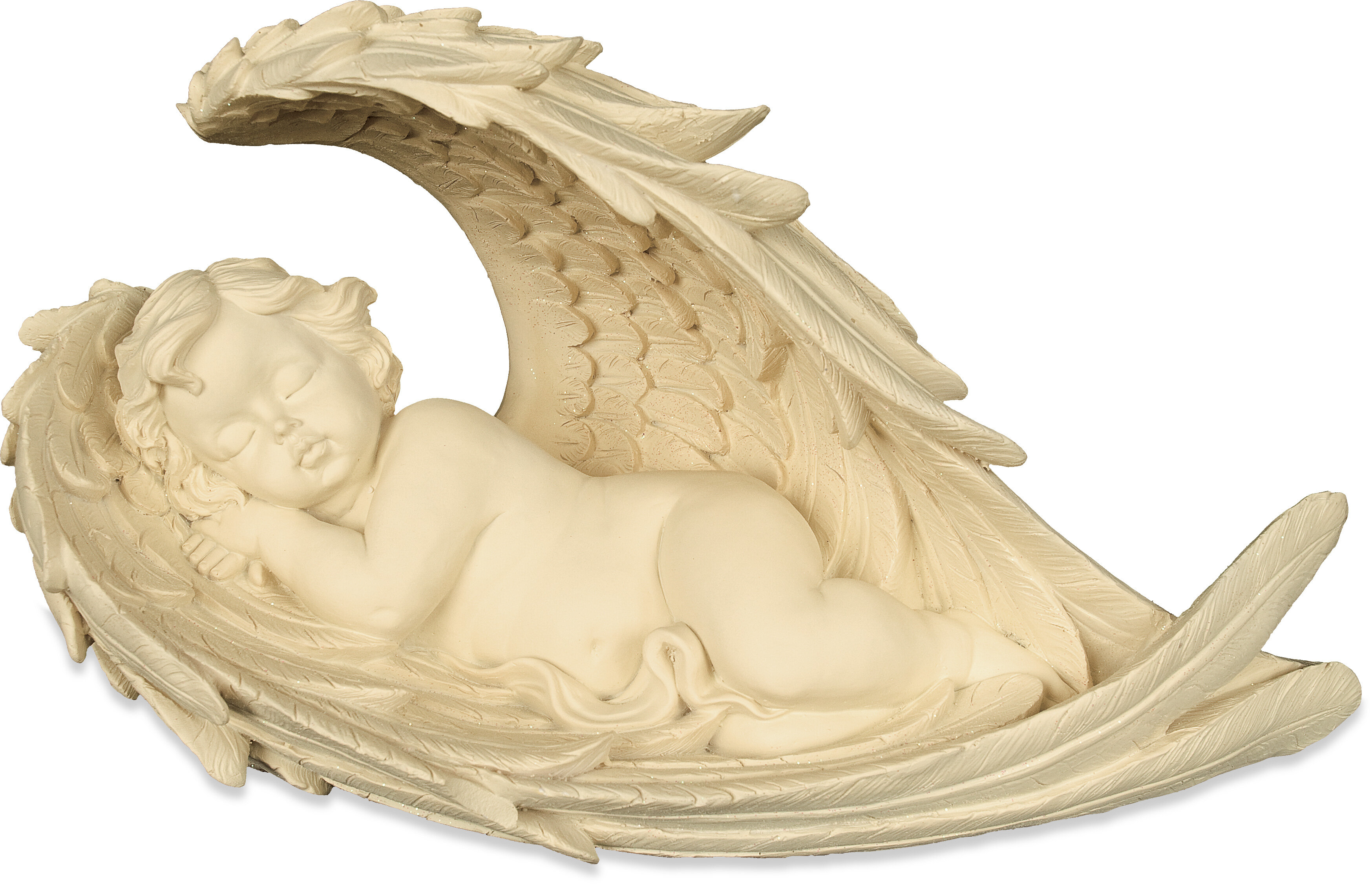 Angelstar Angel in Wings Statue | Wayfair
