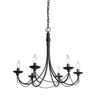 Price comparison Randon 6-Light Chandelier By Gracie Oaks