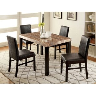 Nowakowski 5 Piece Dining Set By Latitude Run