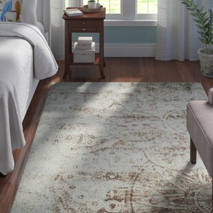 Online Reviews Armand Gray/Light Brown Area Rug By Andover Mills