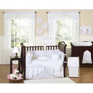 Clearance Eyelet 9 Piece Crib Bedding Set By Sweet Jojo Designs