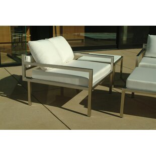 Talt Low Deep Seating Patio Lounge Chair with Cushions by Modern Outdoor