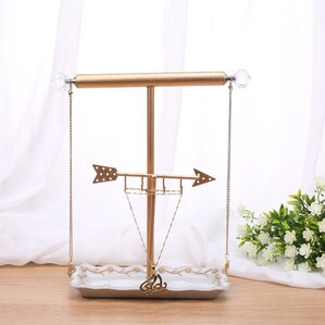 Golden Arrow Jewelry Stand by Ikee Design