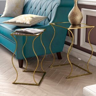 Perth 2 Piece Nesting Table by House of Hampton