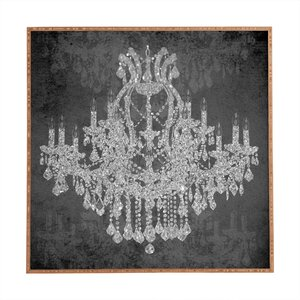 Chandelier I Framed Graphic Art by House of Hampton