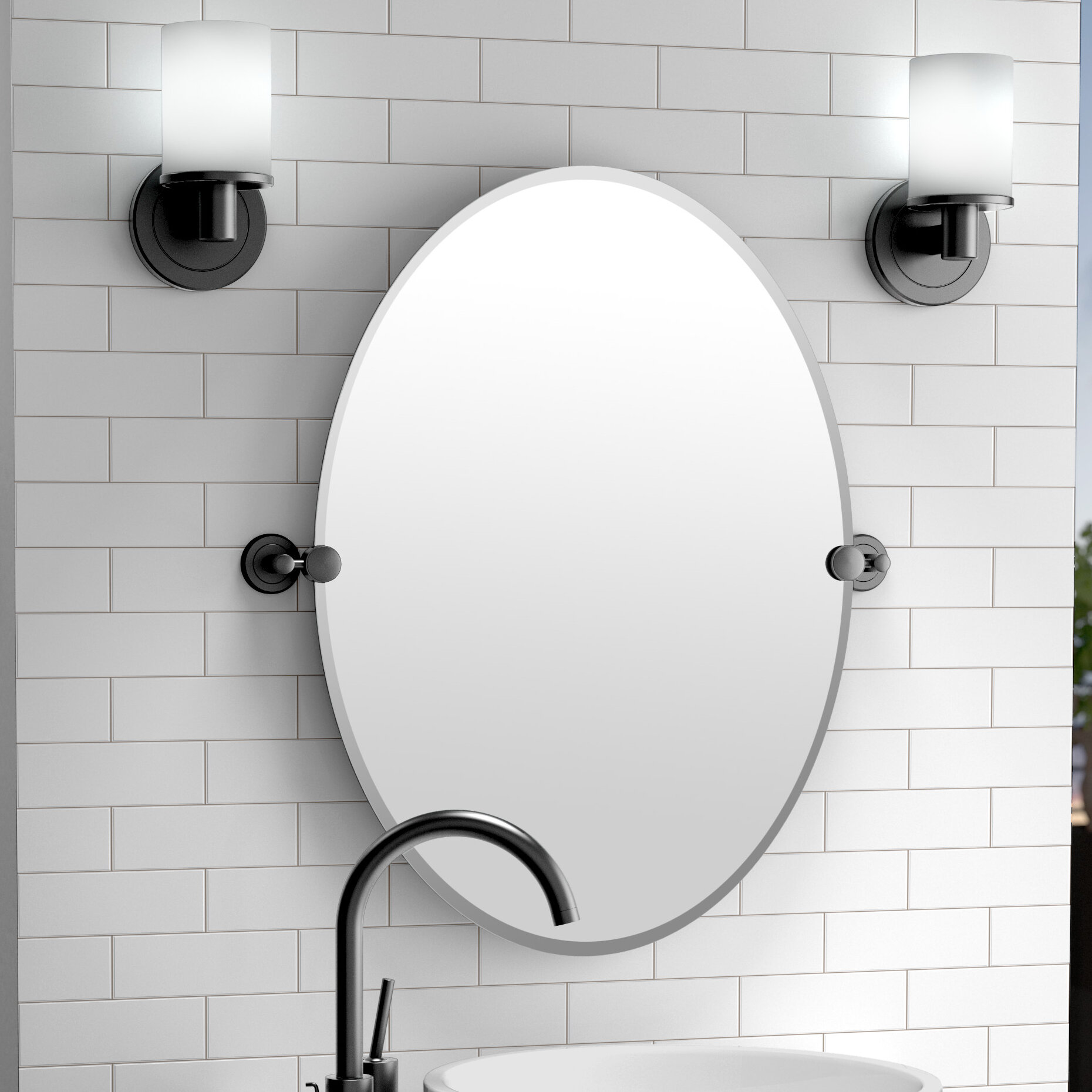 Gatco Latitude II Bathroom/Vanity Mirror & Reviews | Wayfair