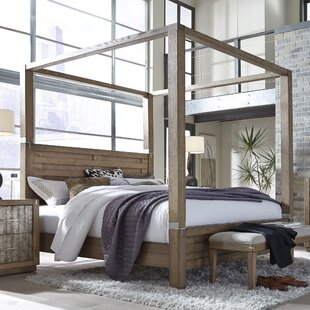 Hastings Canopy Bed by Gracie Oaks