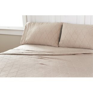 Etched Eastern Trellis Microfleece™ Sheet Set By Better Living