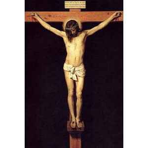 'Crucified Christ' by Diego Velasquez Painting Print by Buyenlarge