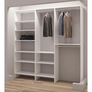 Affordable Demure Design 81W Closet System ByTidySquares Inc.