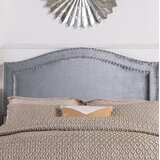 Tricia Upholstered Panel Headboard by House of Hampton®