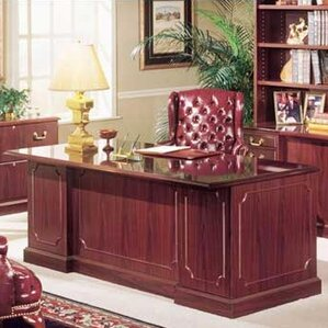 bedford double executive desk bedford double executive desk by high point furniture