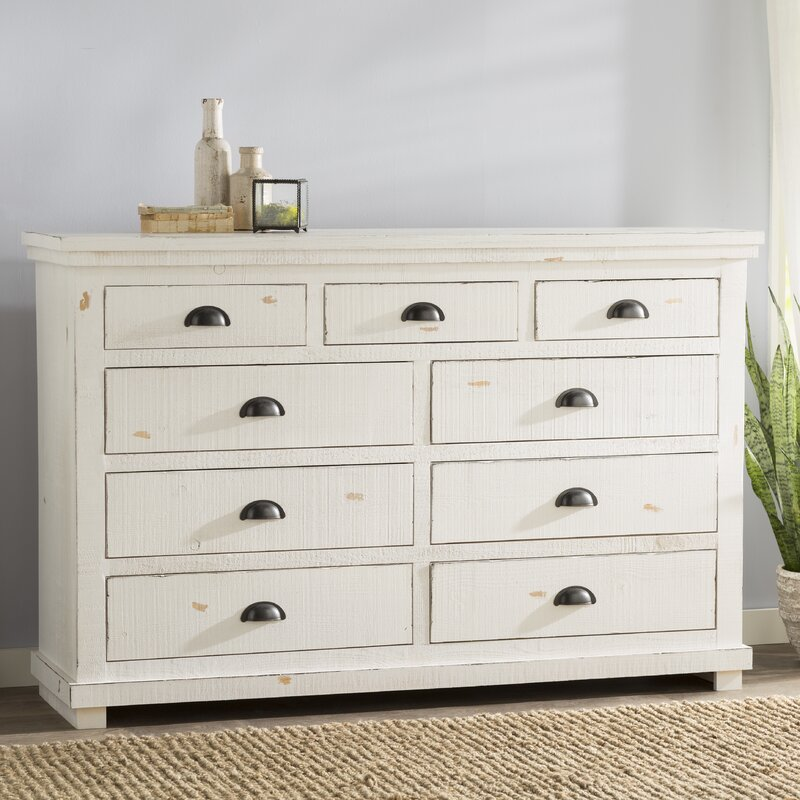 Castagnier 9 Drawer Dresser Amp Reviews Birch Lane