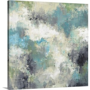 'Cloud Layers' by Liz Jardine Painting Print on Canvas by Canvas On Demand