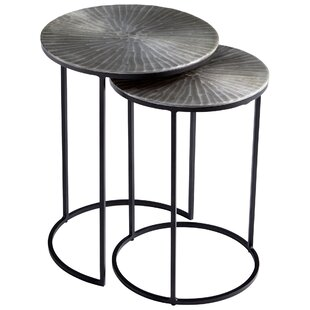 Anais 2 Piece Nesting Tables (Set of 2) by Cyan Design