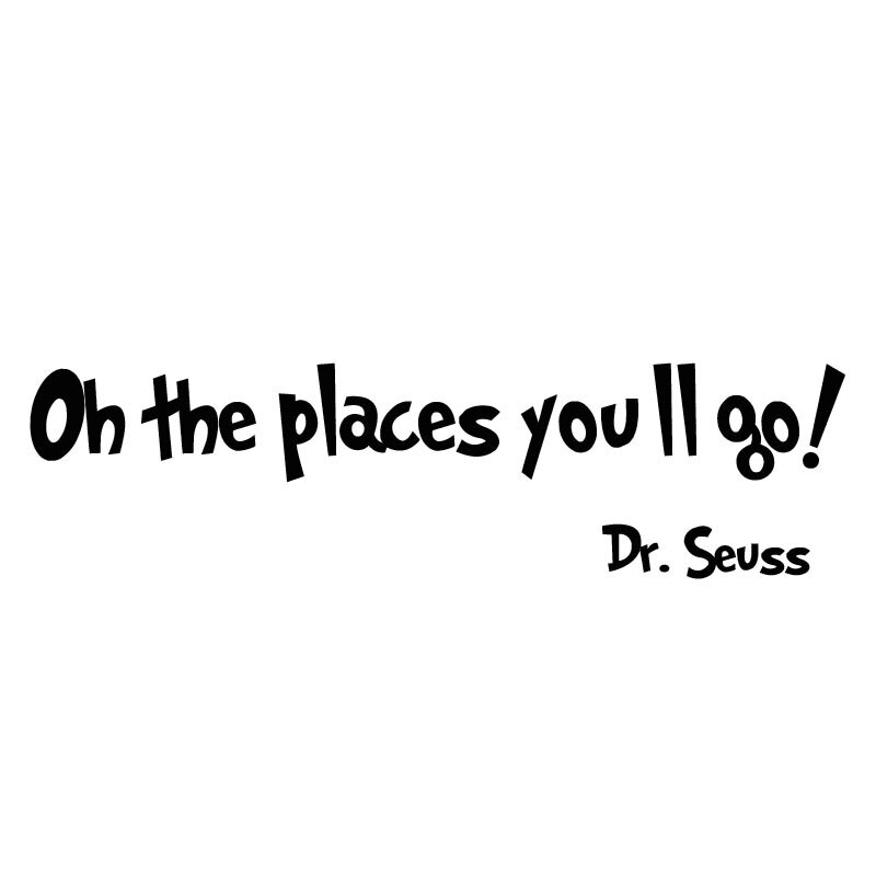 vwaq oh the places you ll go dr seuss wall decal reviews wayfair