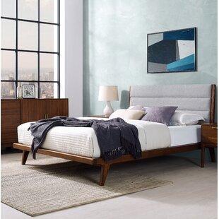 Online Reviews Mercury Upholstered Platform Bed By Greenington