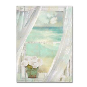 'Summer Me II' by Color Bakery Painting Print on Wrapped Canvas by Trademark Fine Art