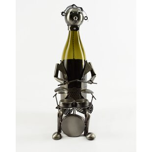 Purchase Drummer 1 Bottle Tabletop Wine Rack Order and Review