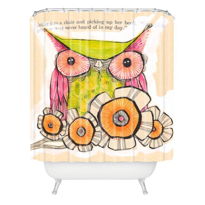 Cori Dantini Miss Daisy Single Shower Curtain