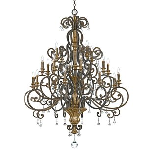 Price comparison Windsor Rise 20-Light Chandelier By Astoria Grand