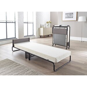 Inspire Folding Bed with Memory Foam Mattress by Jay-Be