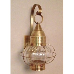 Buying 600 Series 1-Light Outdoor Wall Lantern By Brass Traditions