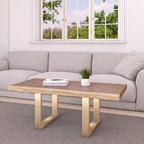 Beggs Sled Coffee Table by Everly Quinn