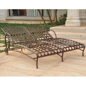 Double Patio Chaise Lounge Chairs You ll Love   Wayfair. Double Chaise Chair. Home Design Ideas