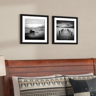 Jetty 2 Piece Framed Photographic Print Set