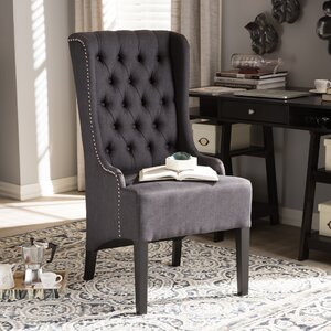 Baxton Studio Vincent Wingback Chair by Wholesale Interiors