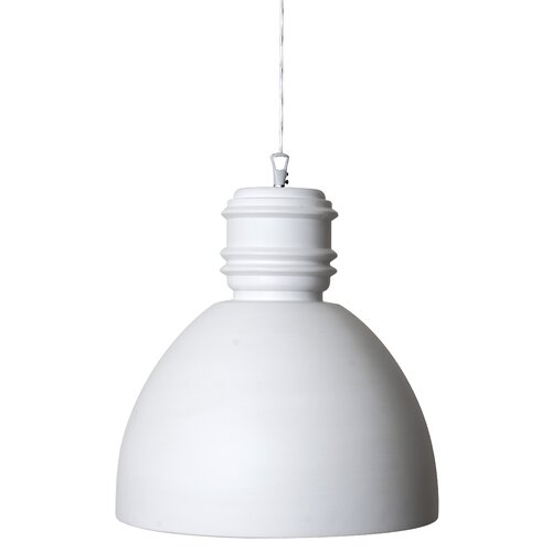 Via Rizzo 1-Light Dome Pendant Karman Size: 33cm H x 33cm W