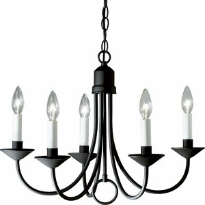 Graham 5-Light Candle-Style Chandelier