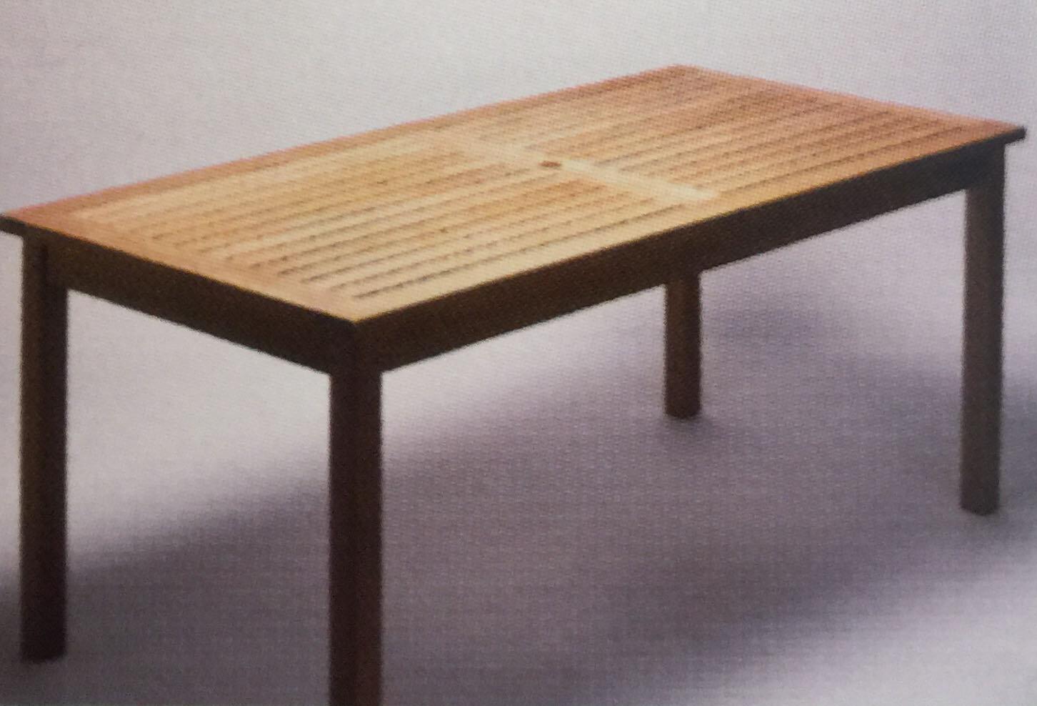 Royal teak teakwood dining table wayfair