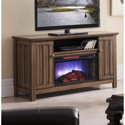 """Allen TV Stand for TVs up to 65"""""""" with Electric Fireplace Included Millwood Pines -  86A1511E917E4AEA8D7EDEFA42E841EC"""