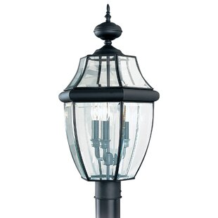Dashner 3-Light Lantern Head By Three Posts Outdoor Lighting